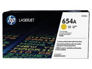 HP 654A Yellow Original LaserJet Toner Cartridge CF332A